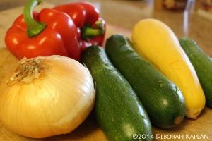 Fresh Jersey vegetables.