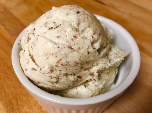 Sea salt chocolate chip ice cream.